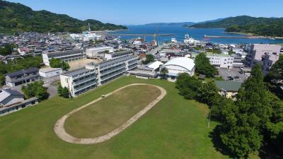 中島分校上空写真